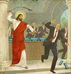 What Would Jesus Do with Bankers?